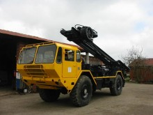 Renault drilling vehicle drilling, harvesting, trenching equipment