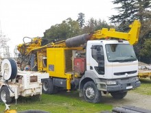 Ellettari drilling vehicle drilling, harvesting, trenching equipment