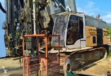 Liebherr drilling vehicle drilling, harvesting, trenching equipment