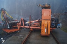 Tamrock drilling vehicle drilling, harvesting, trenching equipment