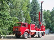 Teredo drilling vehicle drilling, harvesting, trenching equipment