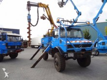 Unimog 1700L drilling, harvesting, trenching equipment