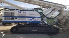Soilmec SF 70 CFA drilling, harvesting, trenching equipment