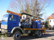 Bohak drilling vehicle drilling, harvesting, trenching equipment