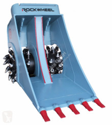 Rockwheel trencher drilling, harvesting, trenching equipment