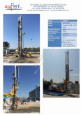 Soilmec PSM 1350 drilling, harvesting, trenching equipment
