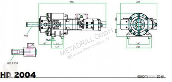 Voir les photos Forage, battage, tranchage nc Eurodrill HD 2004