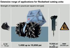 Ver las fotos Perforación, trilla, corte Rockwheel G60