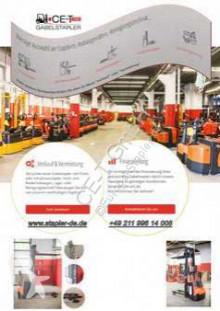 BT LPE 240/S // 2.4T Tragkraft / 1.150 mm lange Gabeln / Plattform klappbar pallet truck