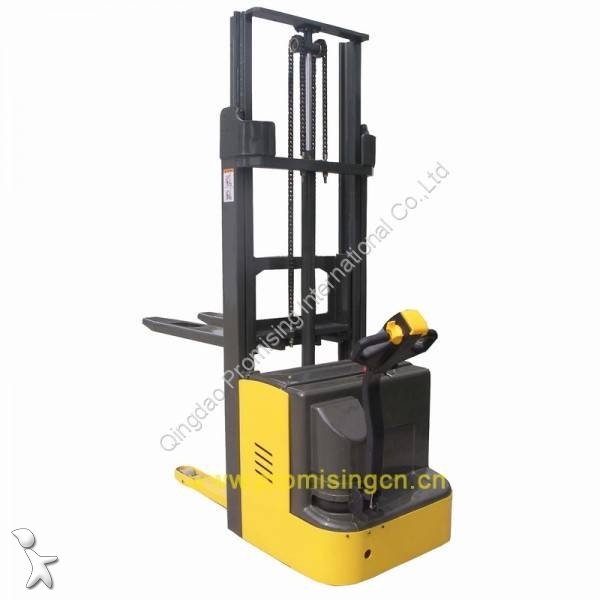 View images Dragon Machinery TBC15-30 Series Electric Pedestrian Pallet Stacker with AC driving motor but without pedal pallet truck