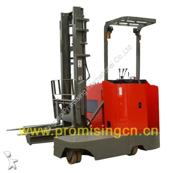 View images Dragon Machinery TD20-60 Electric Side Loading Forklift Truck with two AC drive motors pallet truck