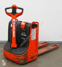 wózek podnośnikowy samojezdny Linde T 16/1152