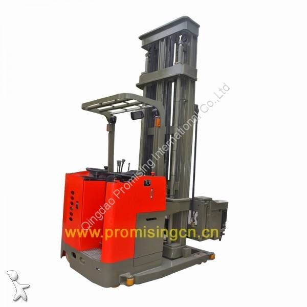 View images Dragon Machinery 1.0T Capacity 3-Way Electric Pallet Stacker TC10-55 stacker