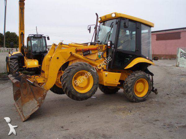 mini-tractopelle jcb 2cx 2cxu occasion