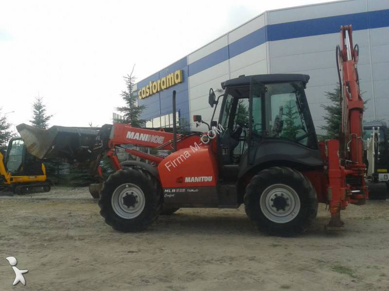 tractopelle rigide manitou mlb 625 occasion