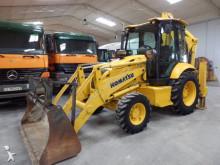 traktor med grab Komatsu WB 93 R-5
