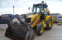 New Holland Baggerlader (starr)