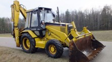 Caterpillar 428 B backhoe loader