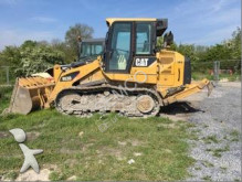 Caterpillar articulated backhoe loader