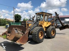Volvo articulated backhoe loader