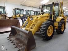 traktor med grab Komatsu WB 97 S-2
