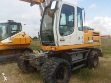 Liebherr rigid backhoe loader