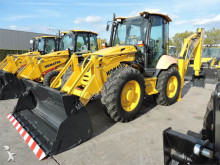 traktor med grab Komatsu WB93S