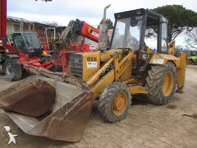 Tractopelle Ford 655