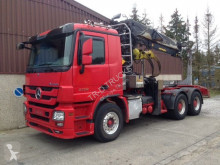 camion Mercedes ACTROS 3360 + HIAB 251S80 WOOD TRANSPORT