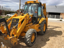 Hitachi JCB 3cx Backhoe with hammer and 4 buckets (, Vo Baggerlader