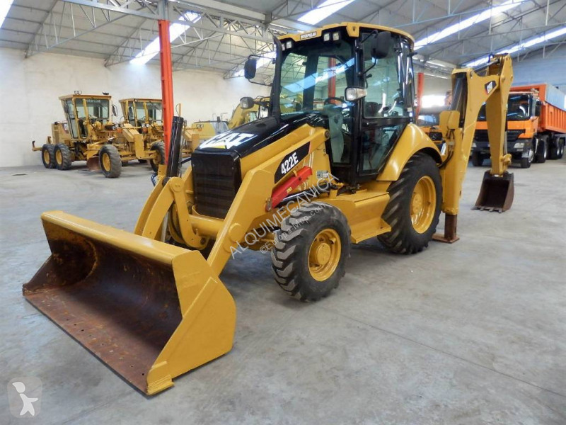 Caterpillar 422 E backhoe loader