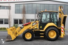 Caterpillar rigid backhoe loader