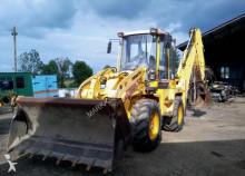 traktor med grab Komatsu WB 98A