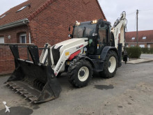 Terex articulated backhoe loader