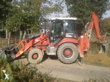 Hidromek rigid backhoe loader
