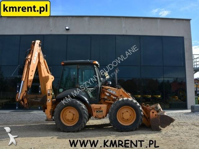 Koparko-ładowarka Case 695SR JCB 4CX KOMATSU W
