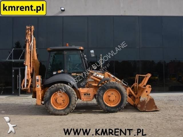 Koparko-ładowarka Case 695SR-4PS JCB 4CX KOMATSU WB98 NEW HOLLAND B115B