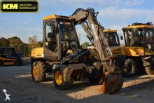 Mecalac articulated backhoe loader