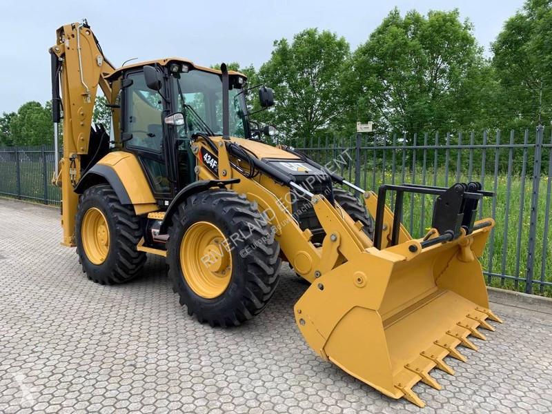 Bekijk foto's Graaflaadmachine Caterpillar 434F 2018 380 hours SOLD