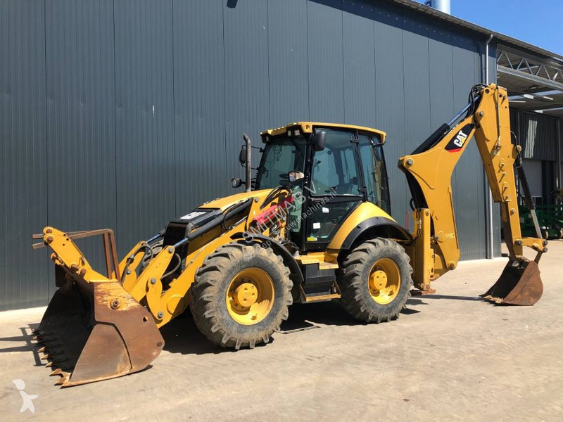 View images Caterpillar 444F • Smitma backhoe loader