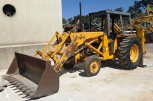 Massey Ferguson rigid backhoe loader