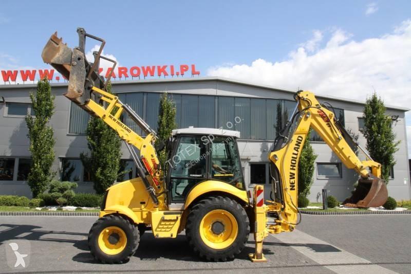 Vedeţi fotografiile Buldoexcavator New Holland 800 MTH NEW!!!