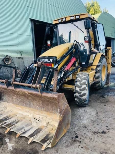 Vedeţi fotografiile Buldoexcavator Caterpillar 438c