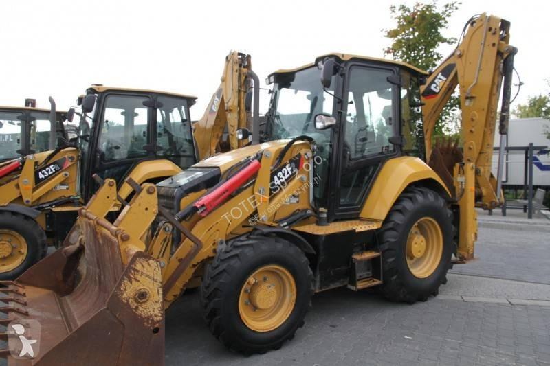 Vedeţi fotografiile Buldoexcavator Caterpillar BACKHOE LOADER CAT 432F2 TURBO POWERSHIFT 6 UNITS