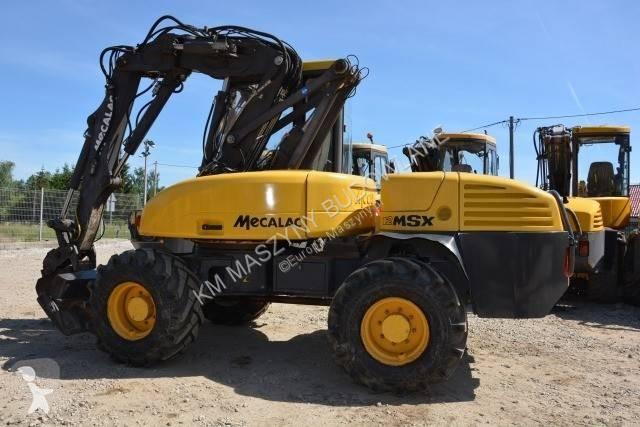 Vedeţi fotografiile Buldoexcavator Mecalac 12MSX MECALAC 12MTX 12MXT 10MSX