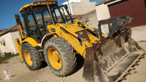 tractopelle JCB 4 CX diesel shovel 4-1 with buckets and hammer,cat