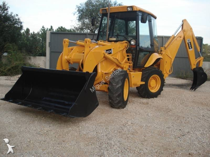 tractopelle rigide jcb 2cx occasion