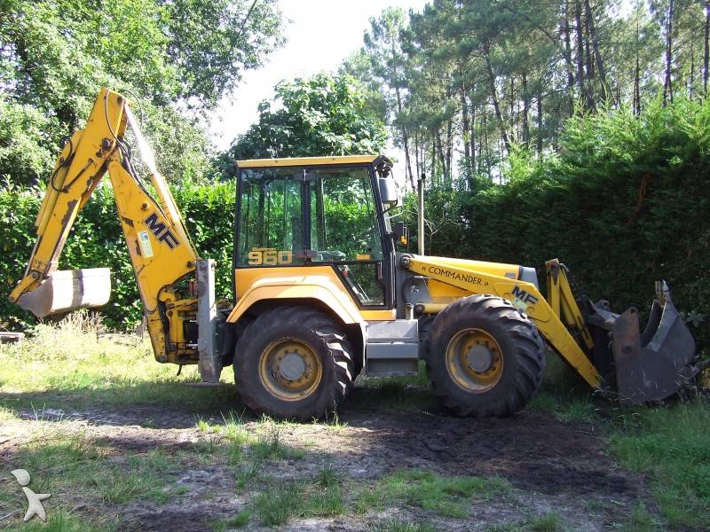 used massey ferguson rigid backhoe loader 960 elektron n 136511. Black Bedroom Furniture Sets. Home Design Ideas