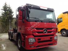 Voir les photos Tractopelle Mercedes ACTROS 3360 + HIAB 251S80 WOOD TRANSPORT