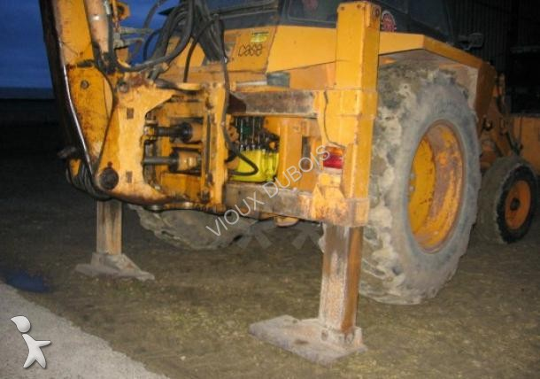 Wybitny Used Case rigid backhoe loader 580 F - n°1388966 CO05